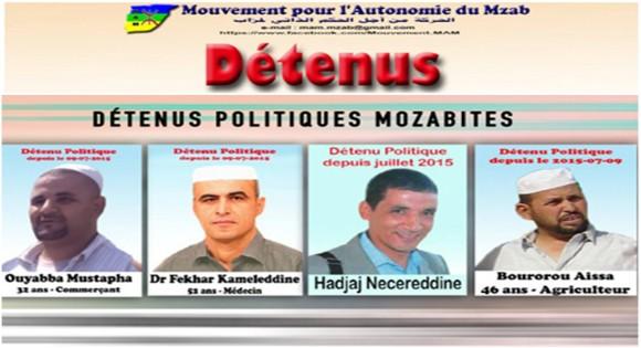 Mouvement pour l'Autonomie du Mzab (MAM) : Communiqué à l'occasion de Yennayer 2966
