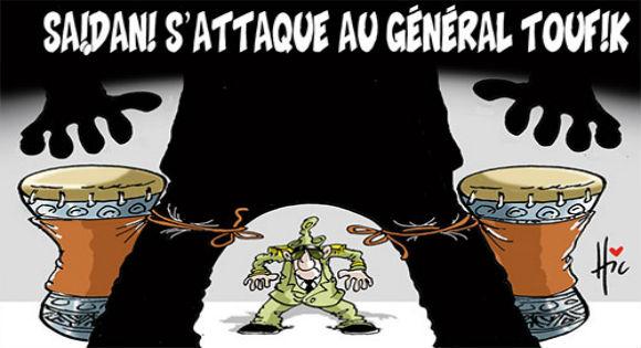 Après les accusations de Saadani, «El Watan» défend le Général Tewfik