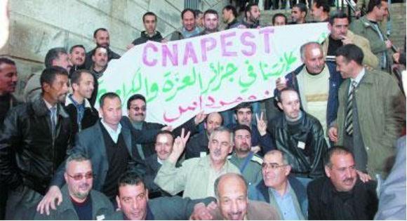 Le syndicat Cnapeste opte pour la poursuite du mouvement de protestation