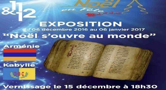 La Kabylie à l'honneur dans l'exposition  « Noel s'ouvre au monde ».