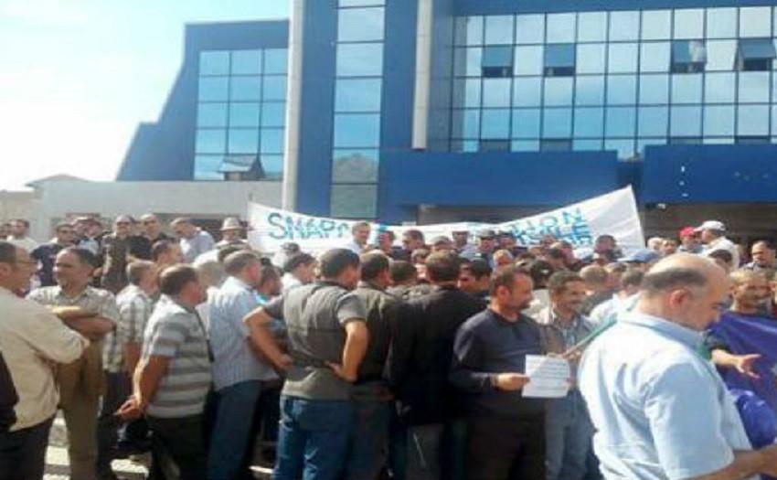 Marche de protestation à Bgayet