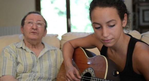 Idir et sa fille