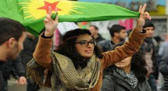 manifestation des kurdes