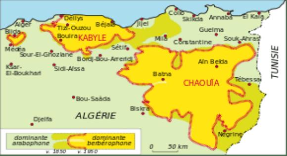 Le problème des frontières de la Kabylie refait surface