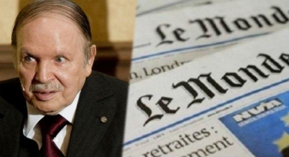 Bouteflika contre Le Monde