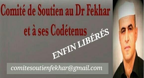 Libération du Dr Fekhar et de Soufghalem : communiqué du comité de soutien