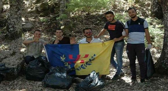 ramassage ordures en Kabylie