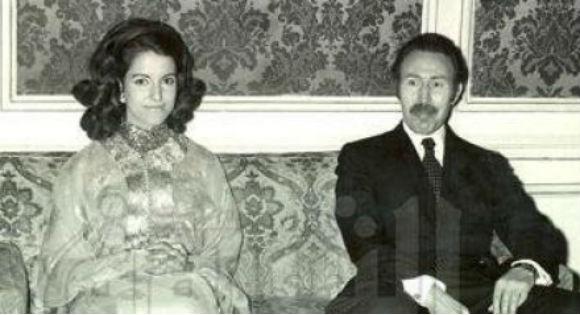 Anissa et Houari Boumediene