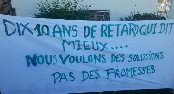 Actions de protestation à Vgayet et Oued Ghir