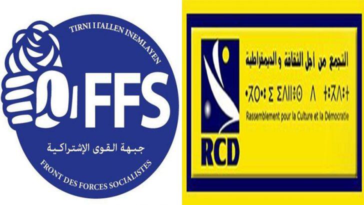 Les vieux démons se réveillent: Guéguerre entre le FFS et le RCD